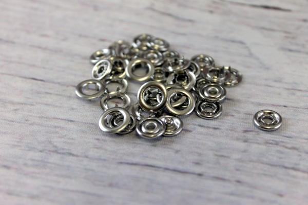 Jerseydrucker   20 Stück   Ringe   silber