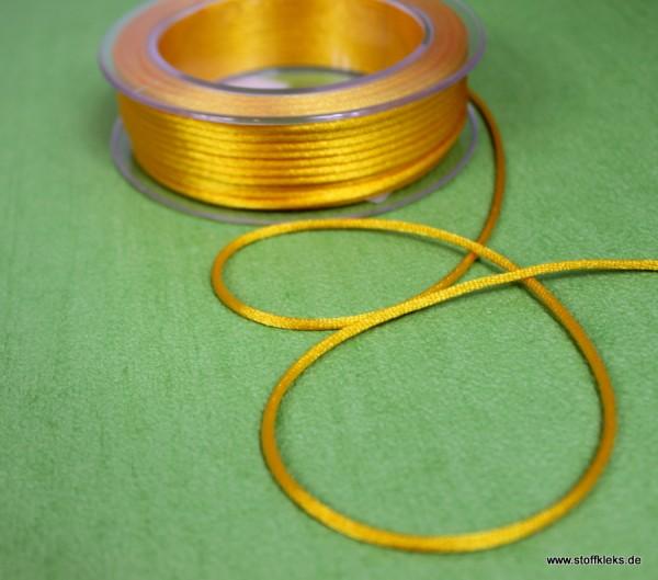 Satinband | Satinkordel | 3mm | gelb