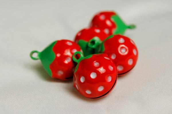 Glöckchen | Erdbeere | rot