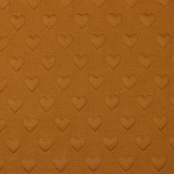 Waffle/Stepper/Quilt | quilted hearts | ocker