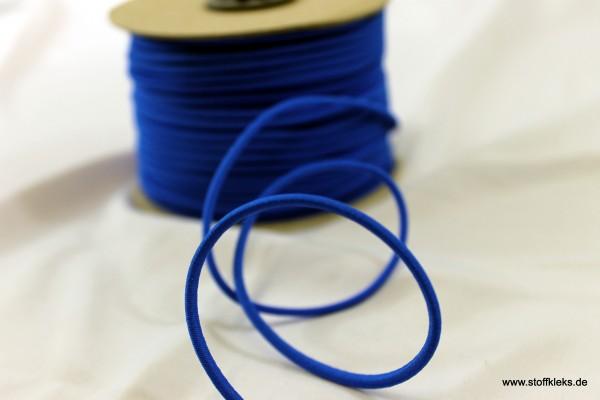 Gummikordel 3mm | kobalt | 10m