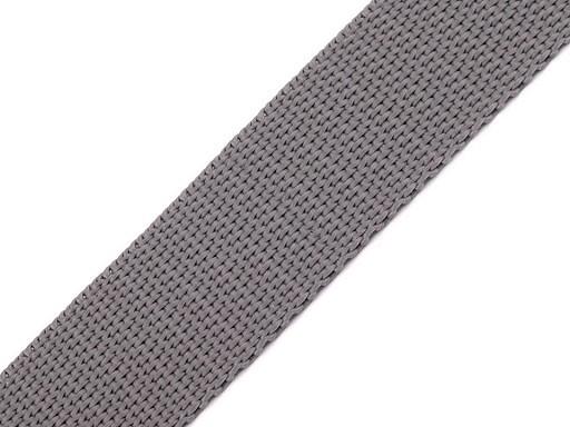 Gurtband | 25mm | grau