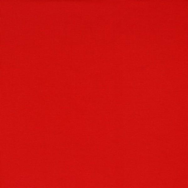 Bündchen   Baumwolle   Uni   tomaten rot