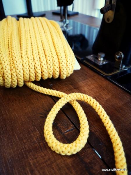 Baumwollkordel | 8mm | gelb