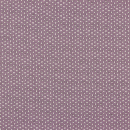 Baumwolle | bedruckt | 4mm little stars | flieder