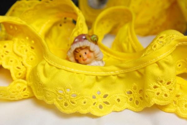 Baumwollborte | gelb