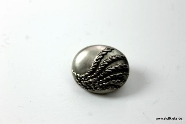 Knopf   Kunststoff   Bänder   oval   1,7 cm x 2 cm