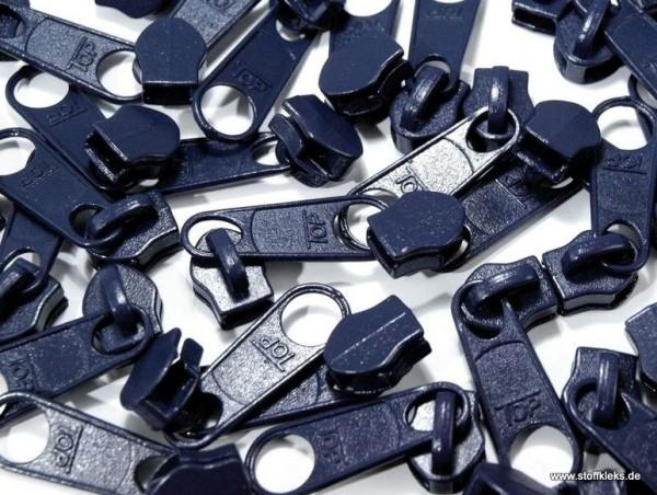 Zipper | Reißverschluss | endlos | Spirale 5mm | dunkelblau