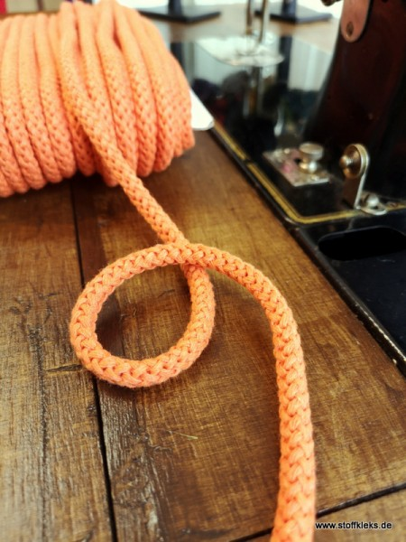 Baumwollkordel | 8mm | orange