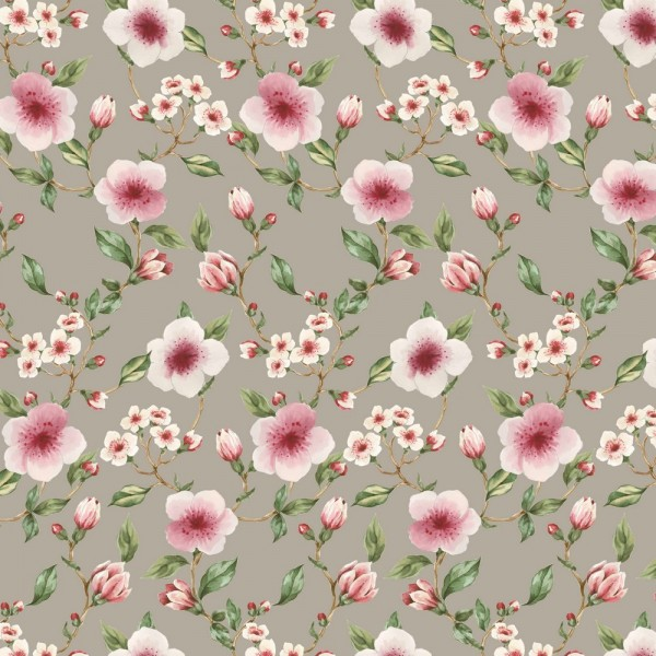 Sommersweat | French Terry | BLOSSOM | taupe
