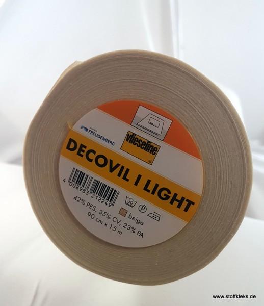 Bügeleinlage | Decovil I light | bügelbar | weiss