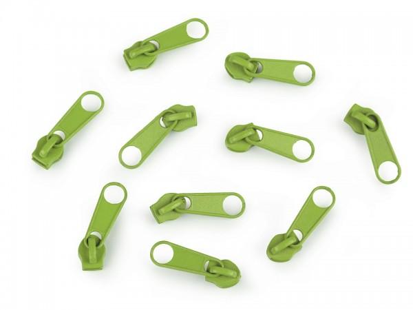 Zipper | Reißverschluss | endlos | Spirale 3mm | maigrün