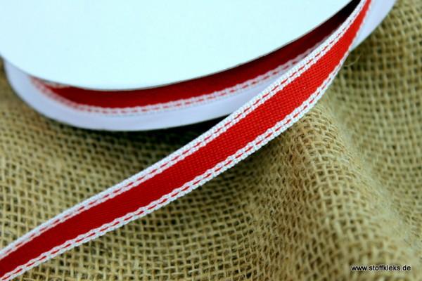 Leinenband | rot