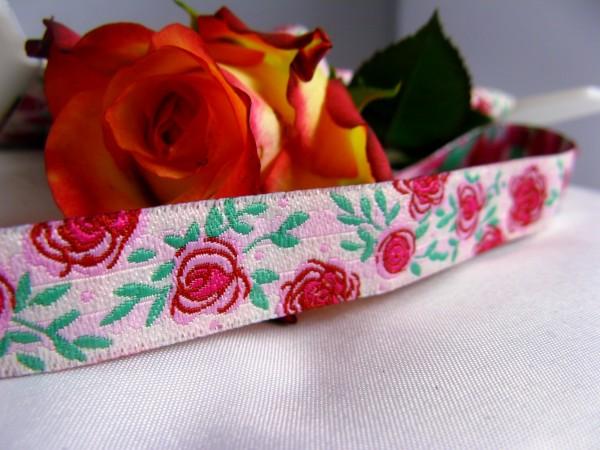 Webband | Rose rosa/rot