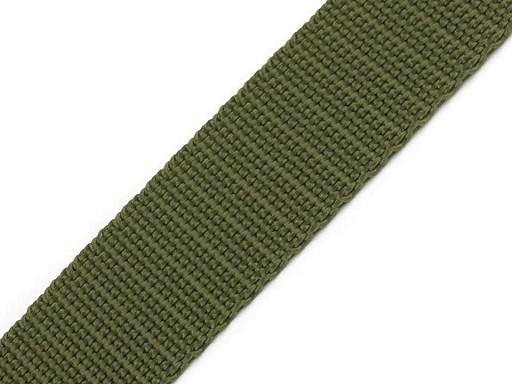 Gurtband   25mm   militär grün
