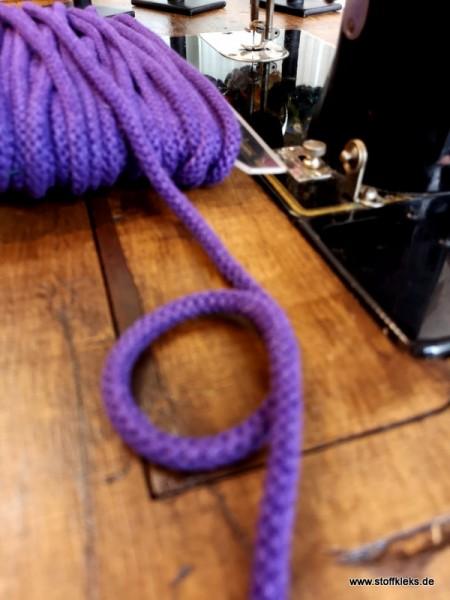 Baumwollkordel | 8mm | lila
