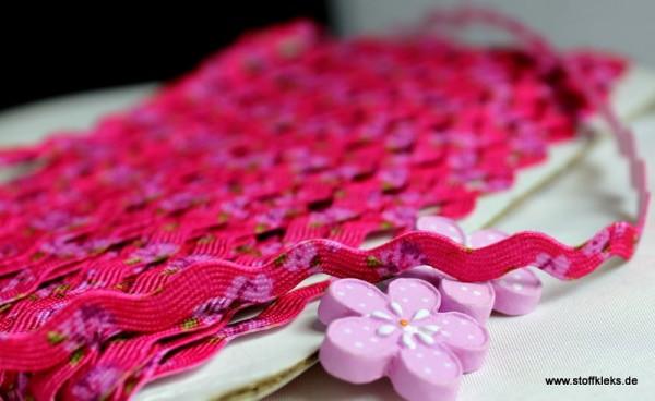 Zackenlitze | Flower | pink