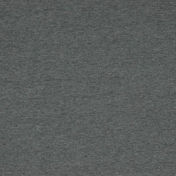Jersey | Uni | melange dunkelgrau