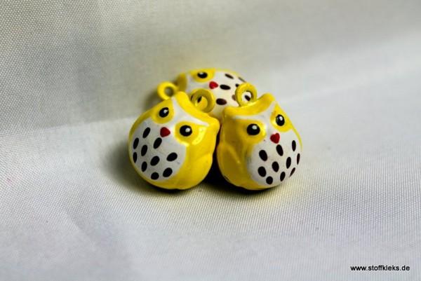 Glöckchen | Eule | Gelb