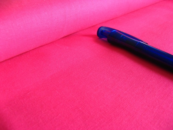 Bündchen   Baumwolle   uni   pink