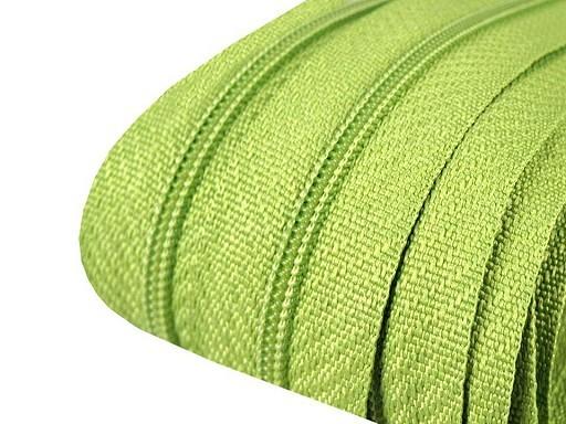 Reißverschluss   endlos   Spirale 3mm   hellgrün
