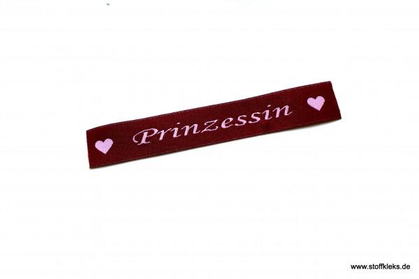 Applikation | Label | Prinzessin | Beere mit rosa | 1,5 cm