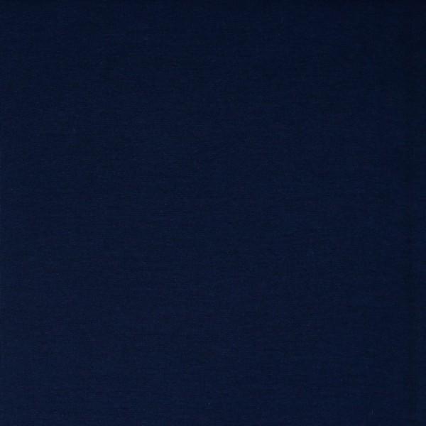 Bündchen | Baumwolle | Uni | marine