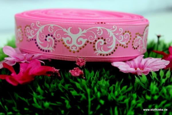 Ripsband | pink tribal