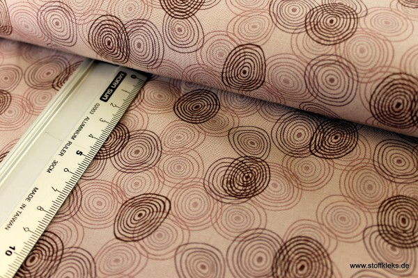 Baumwolle   bedruckt   stoffabrics   Kyoto Collection #MCS 15-055   kakao