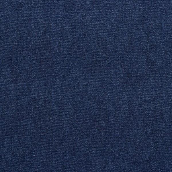 Sommersweat | French Terry | Jeansoptik | blau