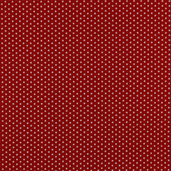 Baumwolle   bedruckt   4mm little stars   rot