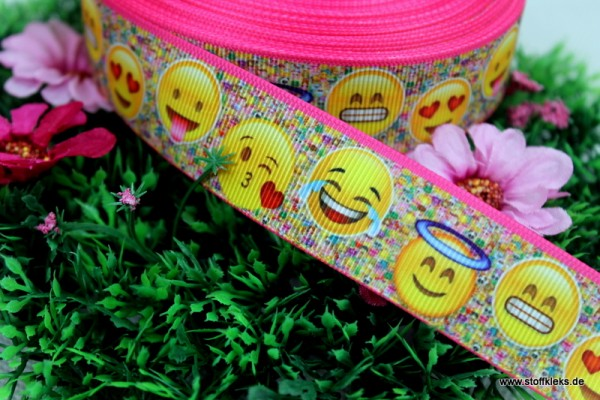 Ripsband | happy faces