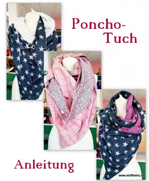 Schnittmuster | by stoffkleks | Poncho-Tuch