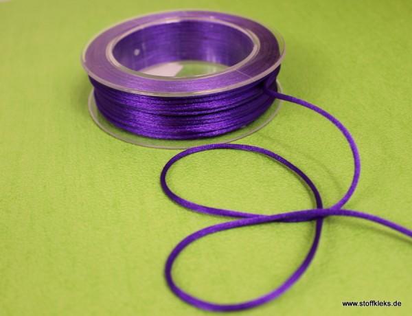 Satinband | Satinkordel | 3mm | lila