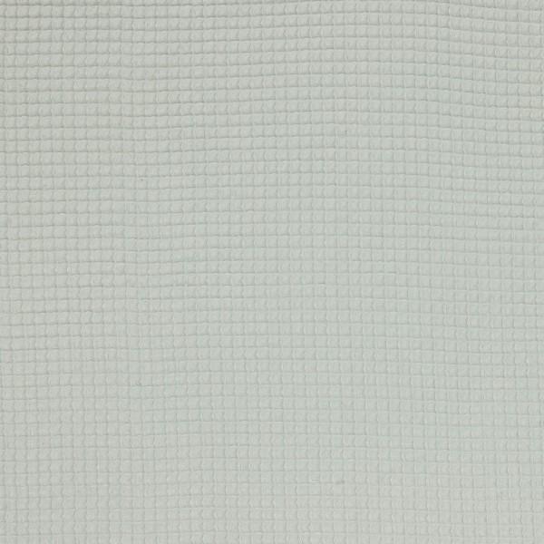 Baumwolle | uni | Waffle Piqué | hellgrau