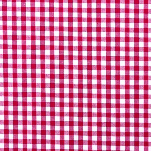 Baumwolle | Vichy | 8mm | berry/weiß