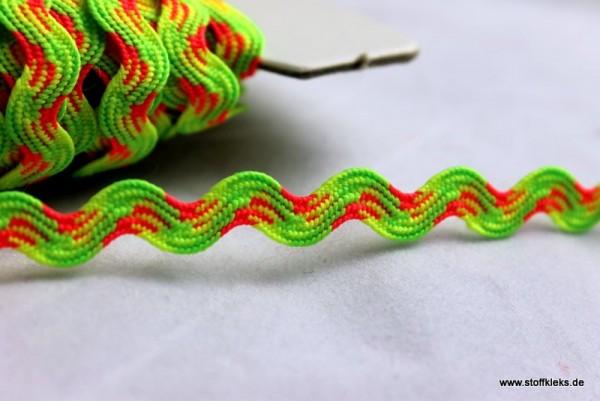 Zackenlitze | Uni | 5mm | neonfarbend