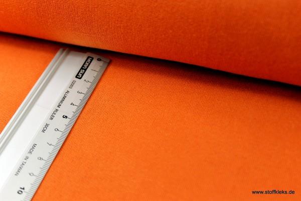 Sweat | Uni | orange | 100 % Baumwolle
