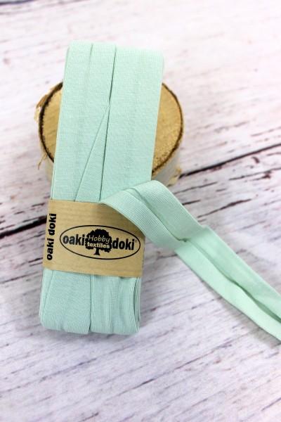 Bias Jersey Schrägband/Einfassband   40 / 20mm   3m   Nr.025   helles mint