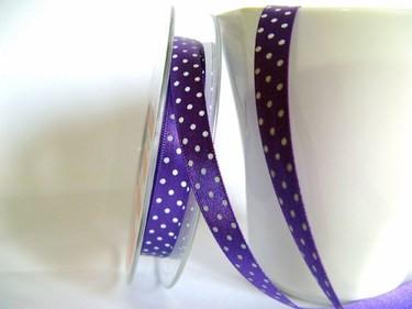 Band   Punkte   lila/weiß