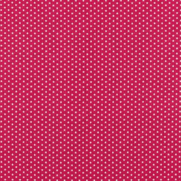 Baumwolle | bedruckt | 4mm little stars | pink