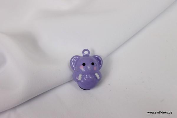 Glöckchen | Elefant | lila