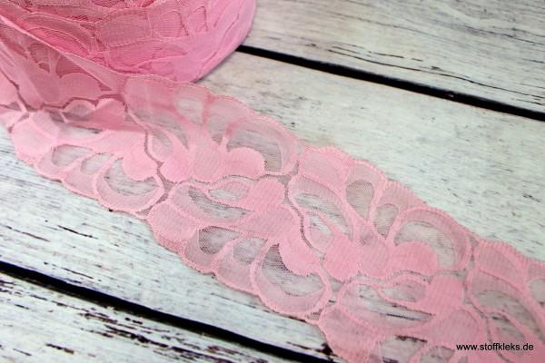 Spitzenborte | Traum in rosa | 9,5 cm