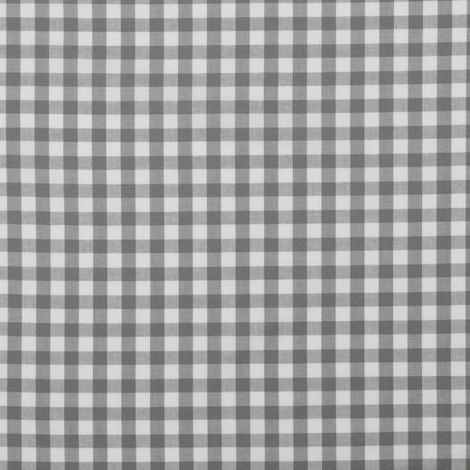 Baumwolle | Vichy | 8mm | grau/weiß