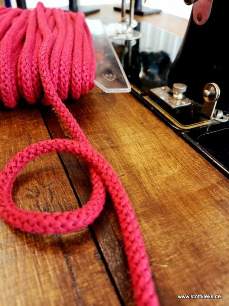 Baumwollkordel | 8mm | bordeaux