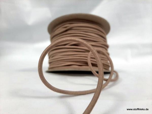 Gummikordel 3mm | cappuccino |10m