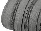 Reißverschluss | endlos | Spirale 5mm | grau