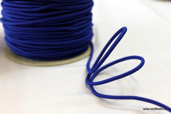Gummikordel 3mm | königsblau | 10m