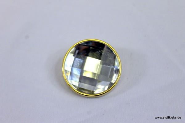 Knopf   Kunststoff   Öse   big diamond   3 cm