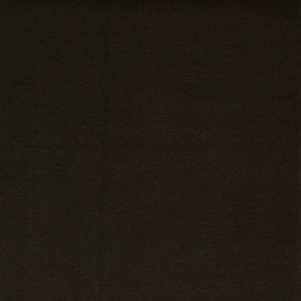 Bündchen   Baumwolle   Uni   dunkelbraun